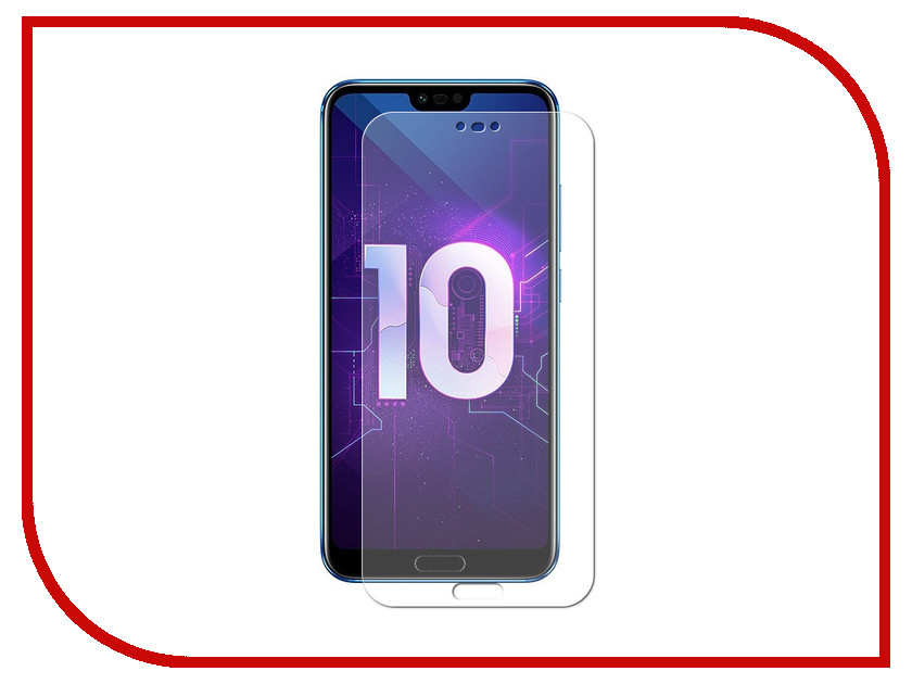 Аксессуар Защитное стекло для Huawei Honor 10 BROSCO 0.3mm HW-H10-SP-GLASS отвертка kraftool 25550 h10