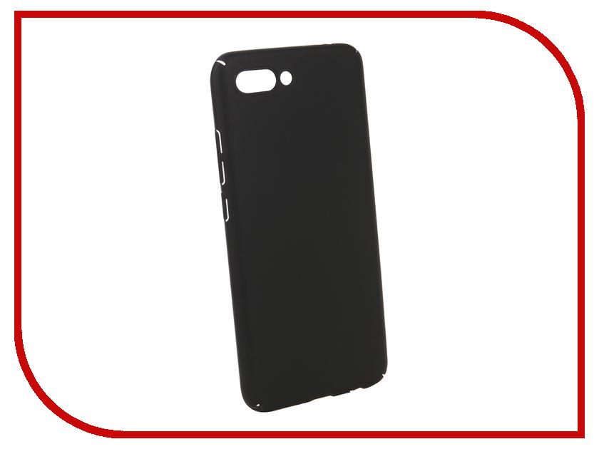 Аксессуар Чехол для Huawei Honor 10 BROSCO Silicone Black HW-H10-NEWTPU-BLACK аксессуар чехол huawei honor 8 brosco softtouch 4side black hw h8 4side st black