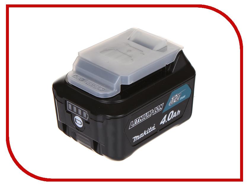 Аккумулятор Makita BL1041B Li-ion 12V 4.0Ah Слайдер 197406-2 charger for makita li ion battery bl1830 bl1430 dc18rc dc18ra dc18rct 100 240v 50 60hz