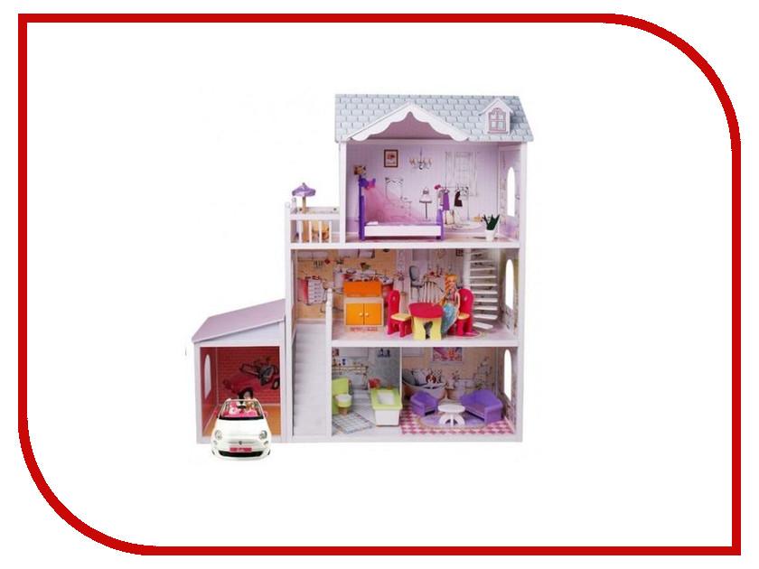 Кукольный домик Edufun с мебелью EF4108 90100266675 plan toys кукольный домик шале с мебелью 7602