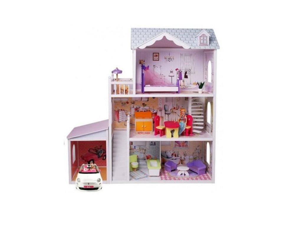 Кукольный домик Edufun с мебелью EF4108 90100266675