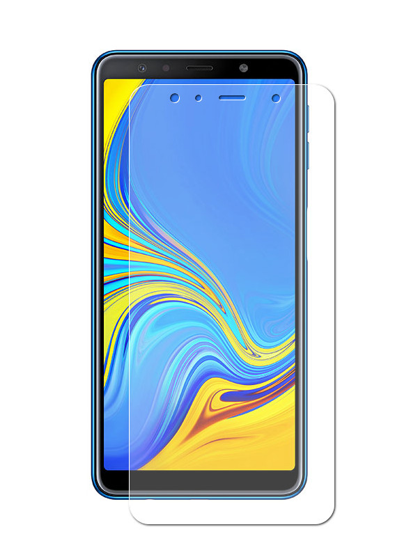 Аксессуар Защитная пленка LuxCase для Samsung Galaxy A7 2018 суперпрозрачная 52661 цена
