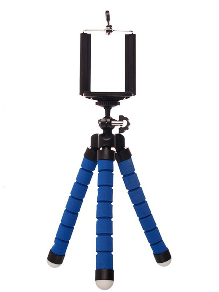 Мини-штатив Activ Tripod mini Blue 82539 мини штатив activ tripod mini 01 black 107161
