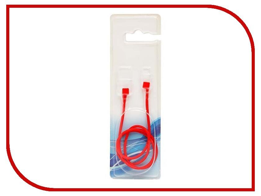 Аксессуар Шнурок силиконовый Activ для APPLE AirPods Red 88011 стоимость