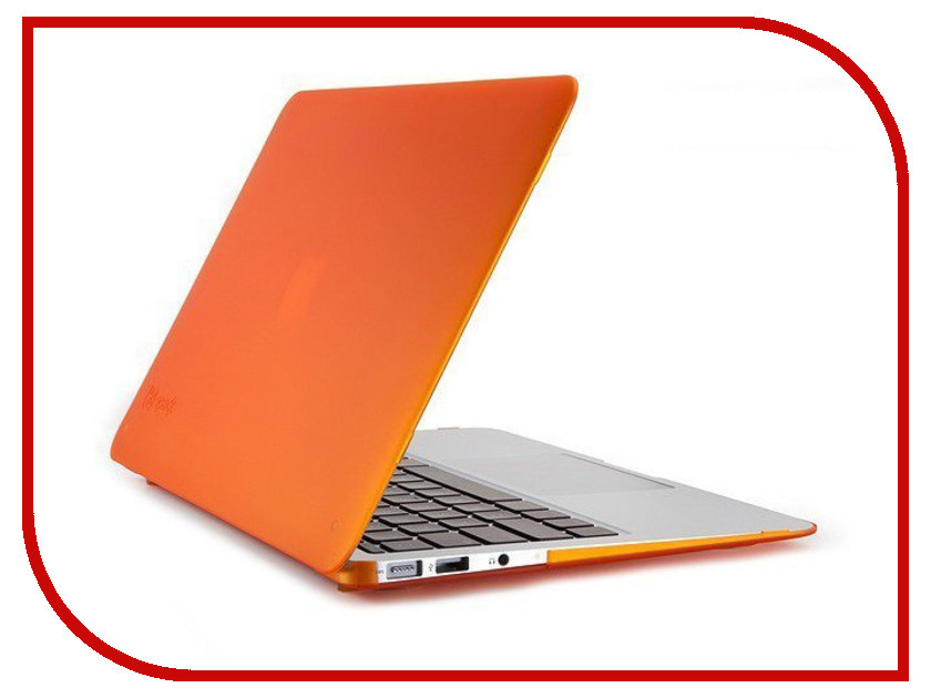 Аксессуар Чехол-кейс 13.3-inch Activ GLASS для APPLE MacBook Air 13 Orange 39144 for macbook air 11 inch a1370 a1465 a1369 a1466 bottom case screw set of 10 free shipping