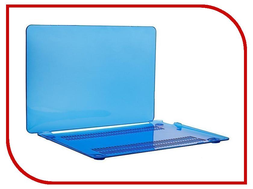 Аксессуар Чехол-кейс 12.0-inch Activ GLASS для APPLE MacBook 12 Blue 55626 аксессуар чехол кейс 13 3 inch activ glass для apple macbook air 13 sky blue 88522