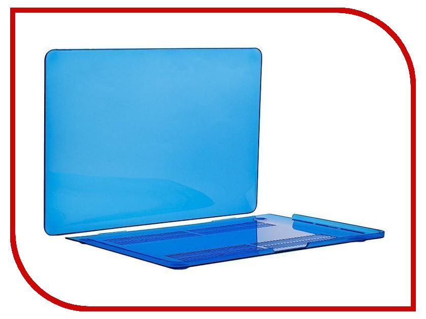 Аксессуар Чехол-кейс 13.3-inch Activ GLASS для APPLE MacBook Pro 13 Mid 2017 Blue 88525 аксессуар чехол кейс 13 3 inch activ glass для apple macbook air 13 sky blue 88522