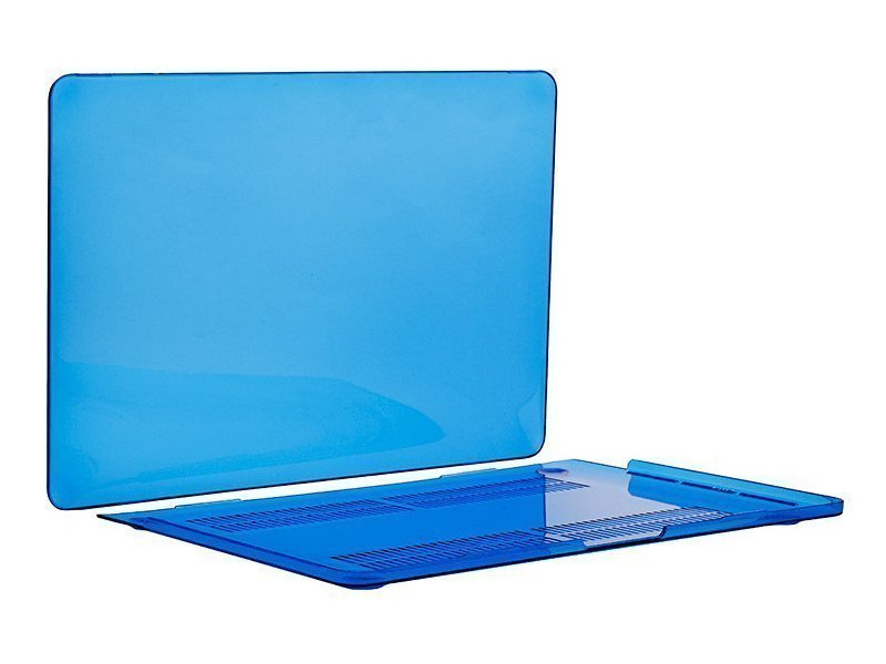 Аксессуар Чехол-кейс 13.3-inch Activ для APPLE MacBook Pro 13 Mid 2017 GLASS Blue 88525 аксессуар сумка 13 inch jack spark tissue bag для macbook 13 blue