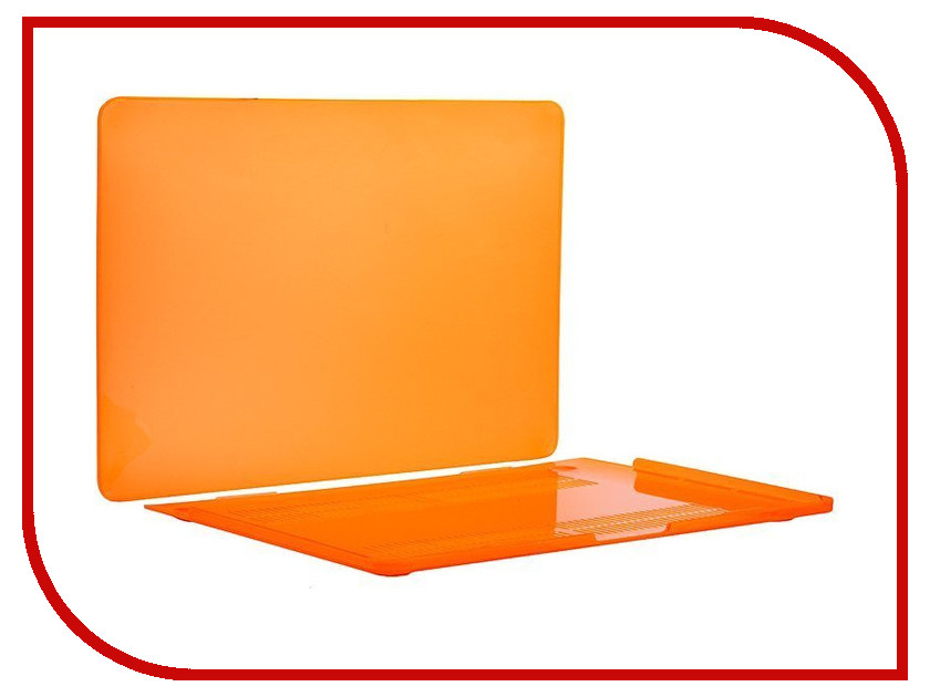 Аксессуар Чехол-кейс 13.3-inch Activ GLASS для APPLE MacBook Pro 13 Mid 2017 Orange 88527 for suzuki dr z drz400 s sm drz400s drz400sm dr250r motorcycle dirt bike cnc pivot brake clutch levers black