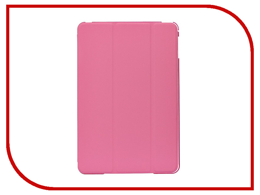 Аксессуар Чехол Activ TC001 для APPLE iPad Mini 4 Pink 88575 аксессуар чехол activ tc001 для apple ipad 2 3 4 green 65242