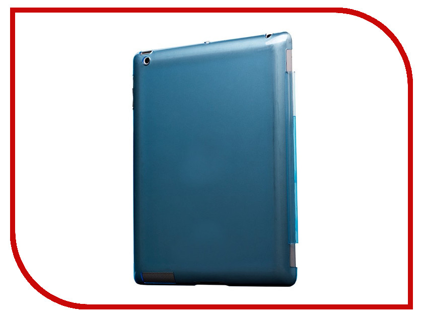 Аксессуар Чехол Activ Glass для APPLE Pad 2/3/4 Blue 88533 free shipping 120mm 2pcs lot 1pc switch 1pc remote control glass touch switch panel 3 gang 1 way tempering glass