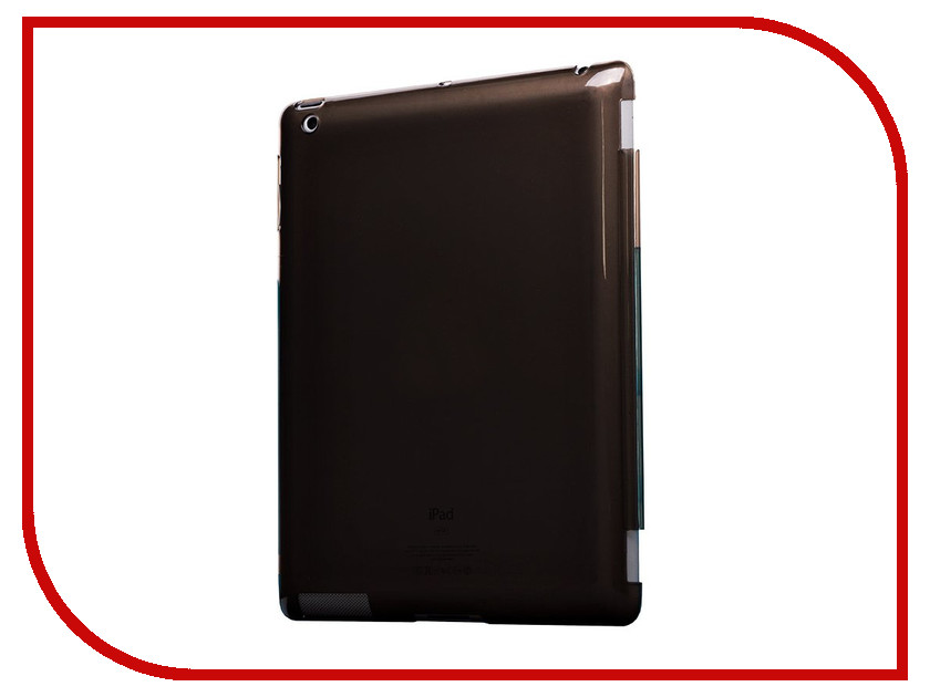 Аксессуар Чехол Activ Glass для APPLE Pad 2/3/4 Black 88532 free shipping 120mm 2pcs lot 1pc switch 1pc remote control glass touch switch panel 3 gang 1 way tempering glass