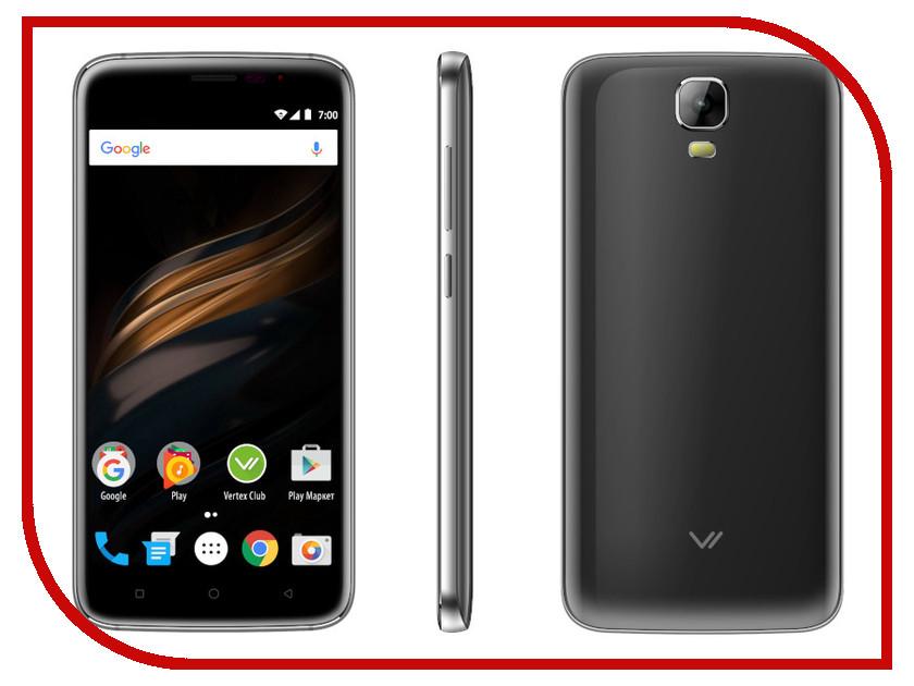 Сотовый телефон VERTEX Impress Win Graphite мобильный телефон vertex impress energy графит