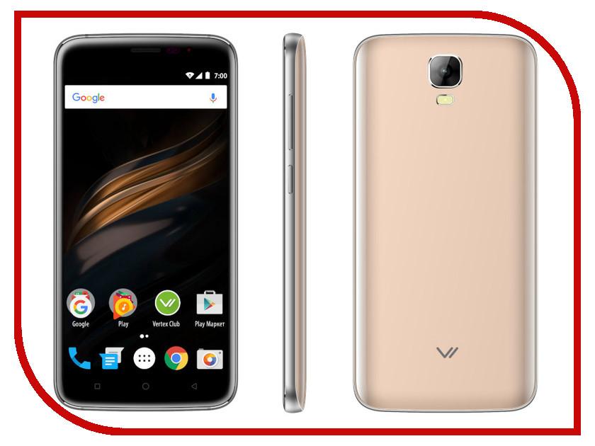Сотовый телефон VERTEX Impress Win Gold сотовый телефон vertex impress sun lte black