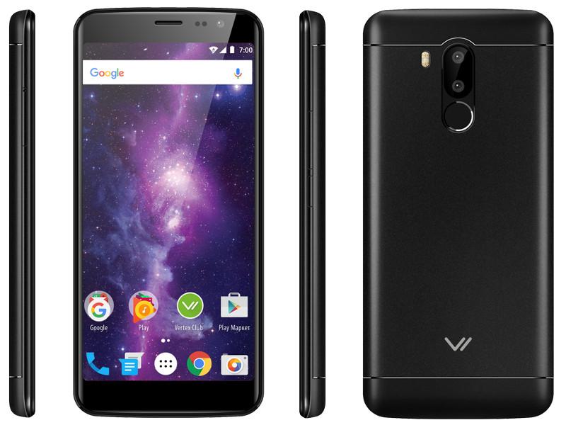лучшая цена Сотовый телефон VERTEX Impress Vega Black