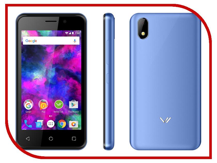 Сотовый телефон VERTEX Impress Funk Blue сотовый телефон vertex impress flash blue