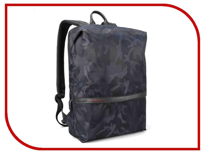 Рюкзак Kingsons KS3194W 15.6-inch Black kingsons backpack for men waterproof men laptop backpack 15 6 inch notebook school bag rucksack mochila escolar