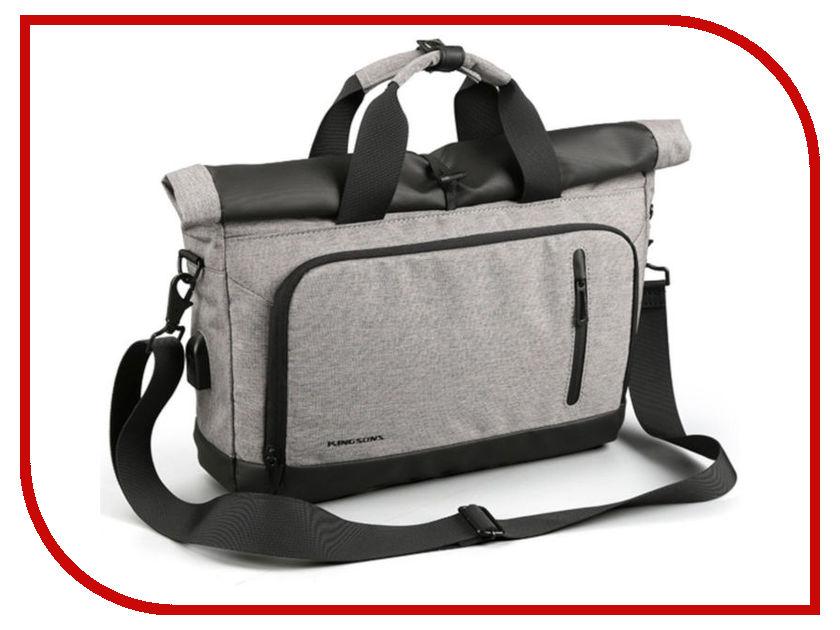 все цены на Аксессуар Сумка 13.3-inch Kingsons KS3162W Grey
