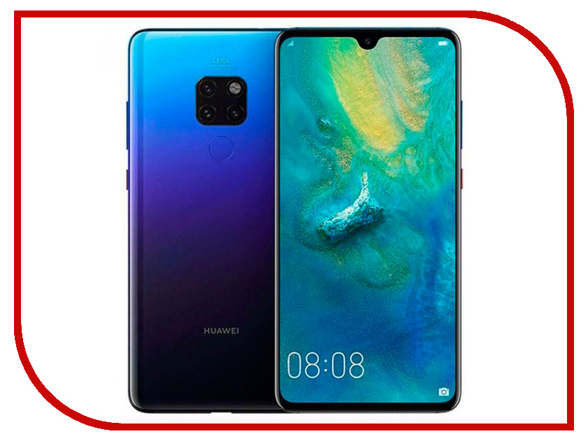 Сотовый телефон Huawei Mate 20 6/128GB Twilight huawei mate 20 128gb 4g twilight смартфон