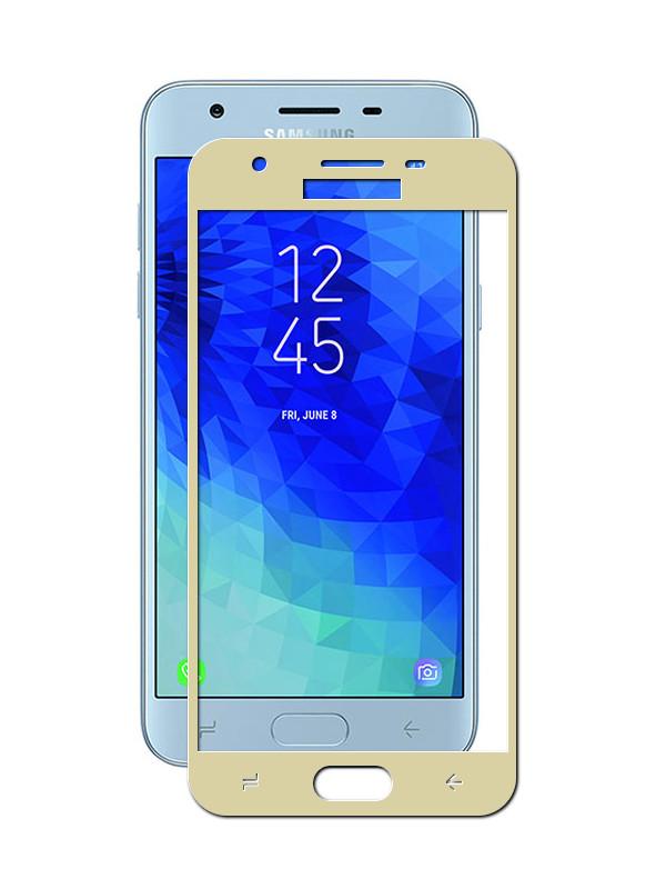 Аксессуар Защитное стекло для Samsung Galaxy J3 2018 Ubik 5D Gold