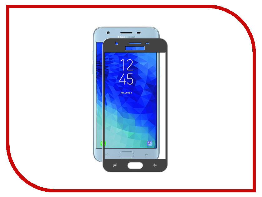 Аксессуар Защитное стекло для Samsung Galaxy J3 2018 Ubik 5D Black аксессуар защитное стекло samsung galaxy a3 2017 luxcase 2 5d black frame 77808