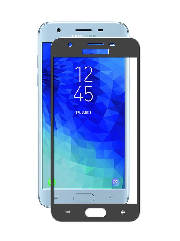 Аксессуар Защитное стекло для Samsung Galaxy J3 2018 Ubik 5D Black