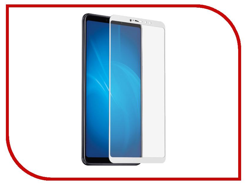 Аксессуар Защитное стекло для Xiaomi Mi Мaх 3 DF Fullscreen xiColor-40 White Frame mi headphones comfort white
