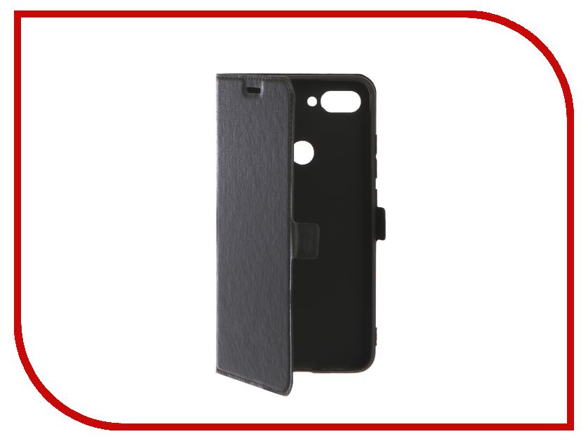 Аксессуар Чехол для Xiaomi Mi 8 Lite DF xiFlip-36 Black чехол книжка для xiaomi mi 5c df xiflip 15 black флип искусственная кожа