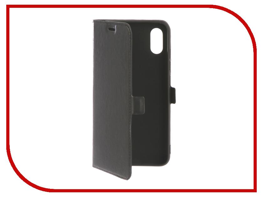 Аксессуар Чехол для Xiaomi Mi 8 Pro DF xiFlip-35 Black аксессуар чехол для xiaomi mi a2 mi 6x df xiflip 25