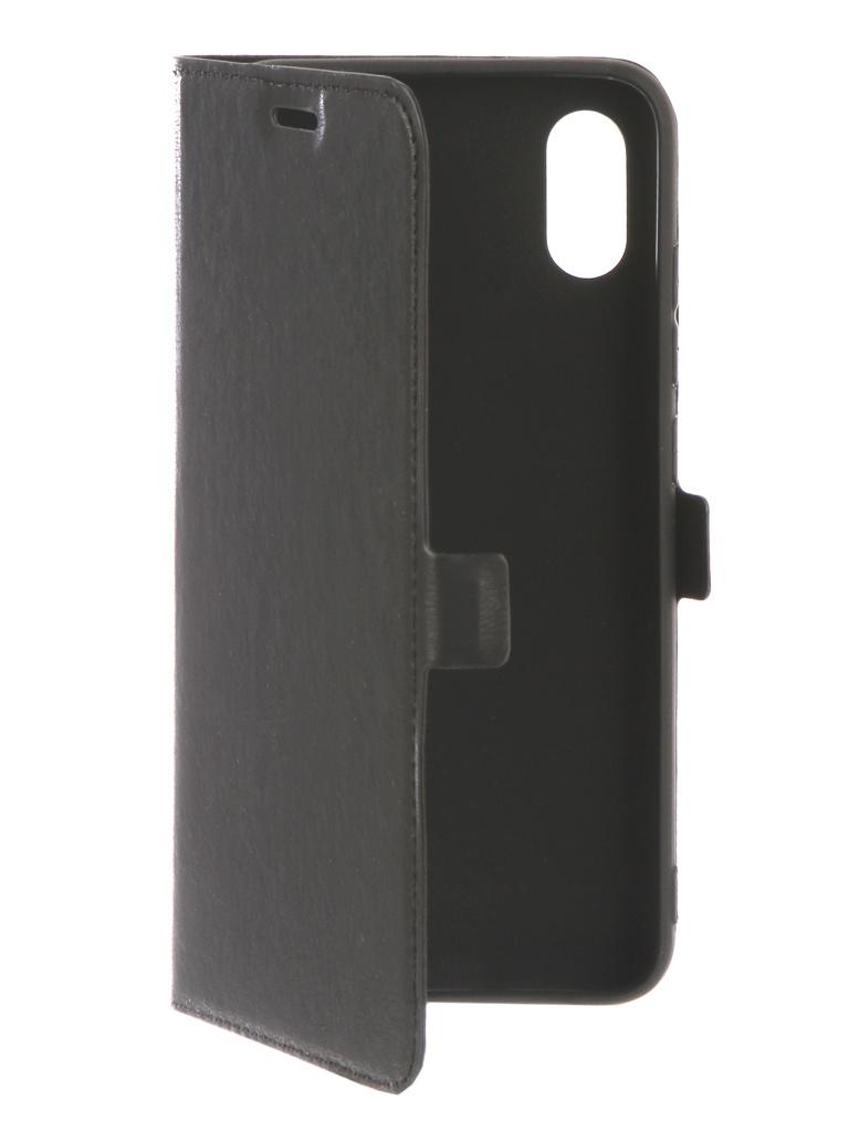 Аксессуар Чехол DF для Xiaomi Mi 8 Pro xiFlip-35 Black чехол с флипом для xiaomi redmi 6 pro df xiflip 32