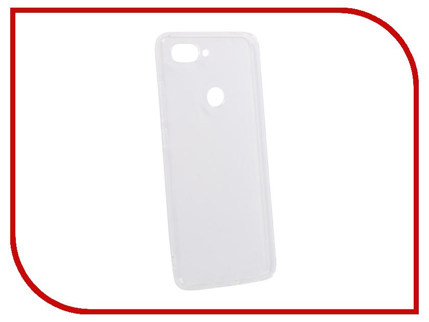 Аксессуар Чехол для Xiaomi Mi 8 Lite DF Silicone Super Slim xiCase-39 Transparent xiaomi mi 5c soft screen protector transparent