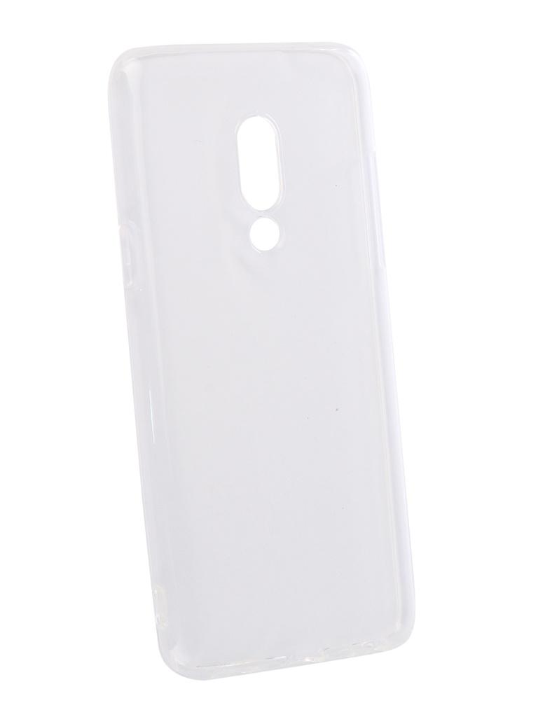 Аксессуар Чехол DF для Meizu 15 Silicone Super Slim mzCase-28 Transparent