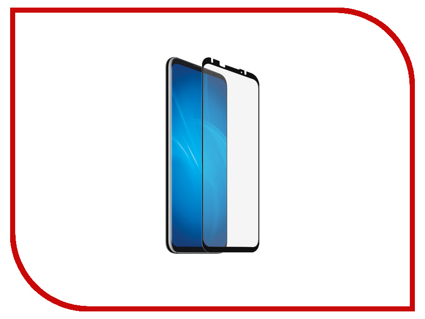 Аксессуар Защитное стекло для Meizu 16 Plus DF Fullscreen mzColor-26 Black Frame top quality lcd display digitizer touch screen assembly for meizu u10 phone with frame free shipping with tools as gift