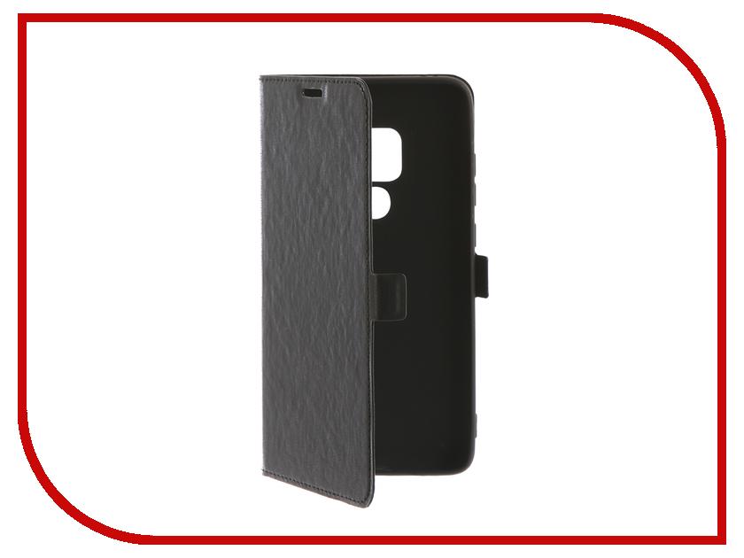 Аксессуар Чехол для Huawei Mate 20 Pro DF hwFlip-50 Black
