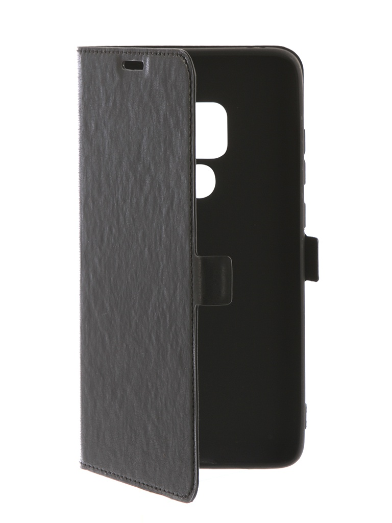 цена Аксессуар Чехол DF для Huawei Mate 20 Pro hwFlip-50 Black онлайн в 2017 году