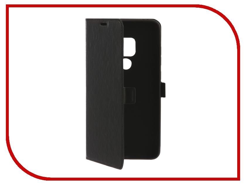 Аксессуар Чехол для Huawei Mate 20 DF hwFlip-49 Black