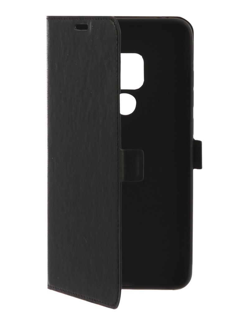 Чехол DF для Huawei Mate 20 hwFlip-49 Black