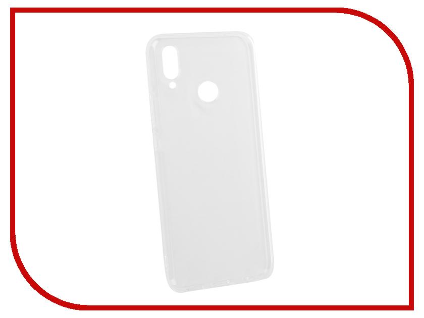 Аксессуар Чехол для Huawei Nova 3i DF Silicone Super Slim hwCase-61 Transparent все цены