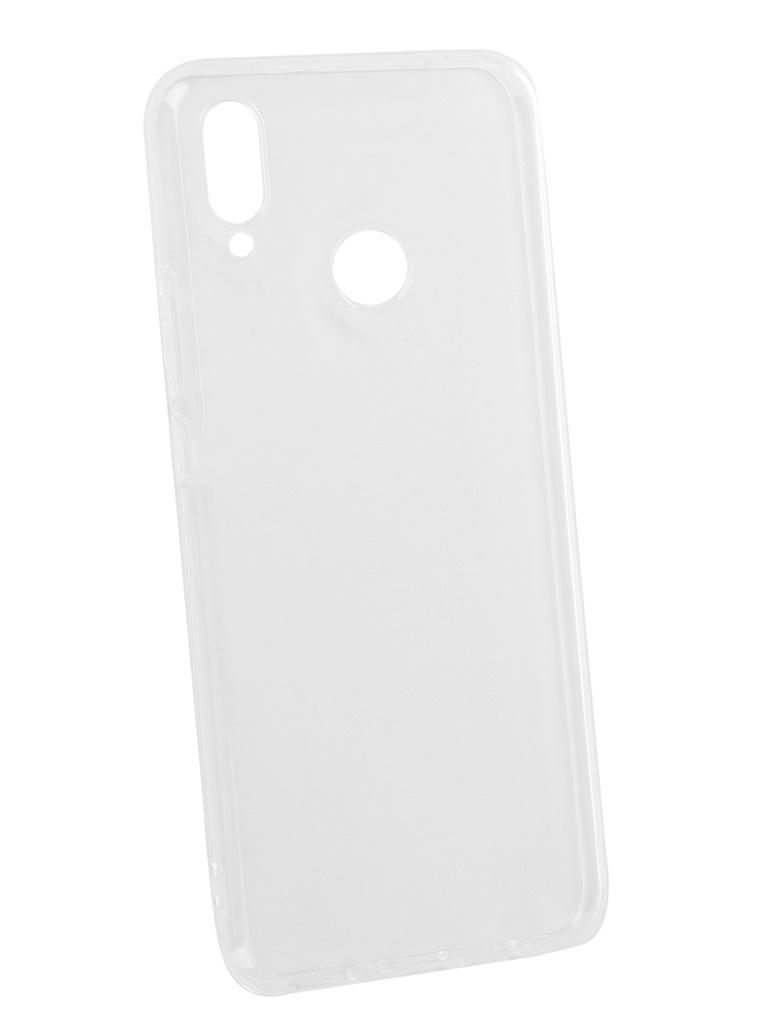 Чехол DF для Huawei Nova 3i Silicone Super Slim hwCase-61 Transparent