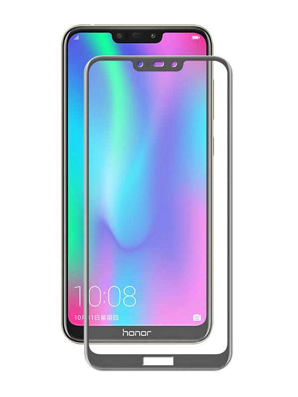 Защитное стекло DF для Honor 8C Fullscreen hwColor-78 Black Frame цена и фото