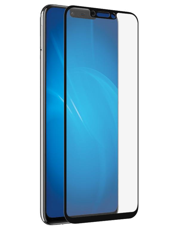 Аксессуар Защитное стекло DF для Huawei Nova 3i Fullscreen hwColor-70 Black Frame