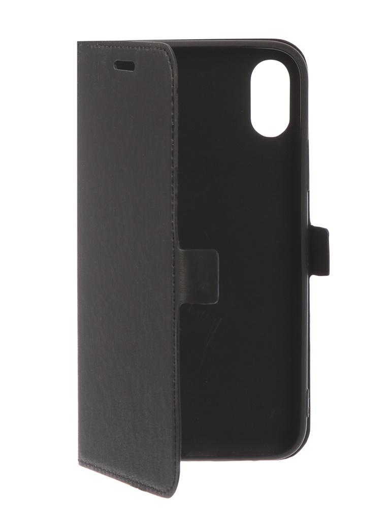 Аксессуар Чехол DF для APPLE iPhone XS iFlip-05 Black