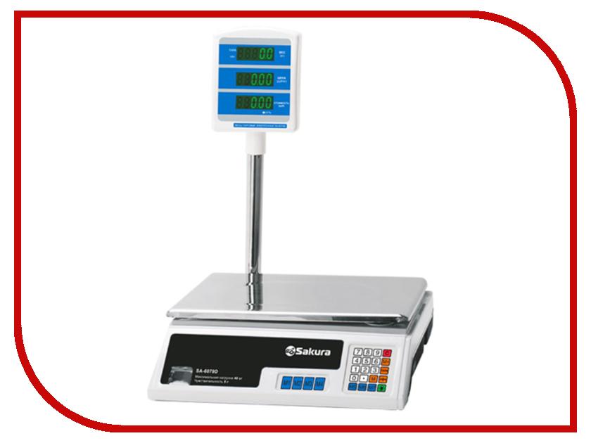 Весы Sakura SA-6079D Professional весы sakura sa 6052s silver