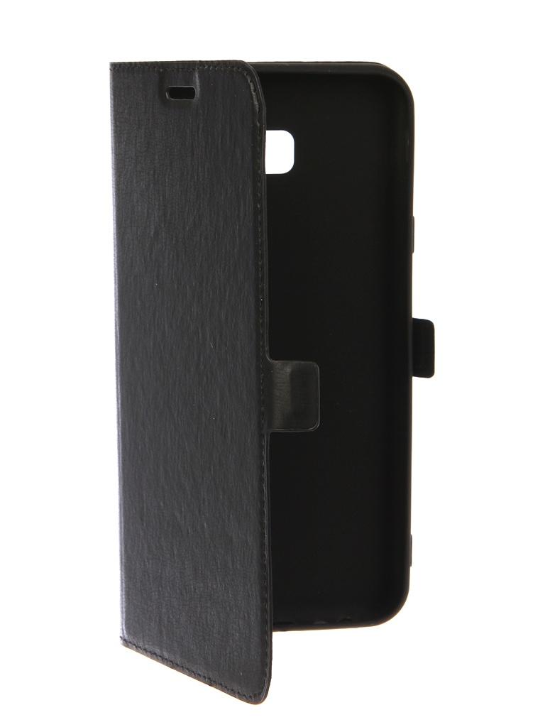 Аксессуар Чехол DF для Samsung Galaxy J4 Plus 2018 sFlip-36 Black scallop edge strappy cami top