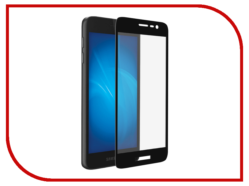 Аксессуар Защитное стекло для Samsung Galaxy J2 Core DF Fullscreen sColor-59 Black Frame valenta для samsung galaxy core lte g386f black