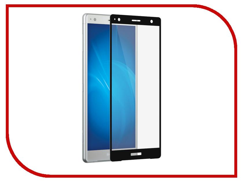 Аксессуар Защитное стекло для Sony Xperia XZ2 DF Fullscreen xColor-14 Black Frame цены онлайн