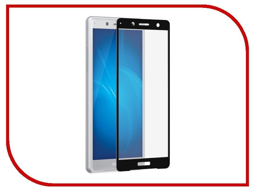Аксессуар Защитное стекло для Sony Xperia XZ2 Compact DF Fullscreen xColor-13 Black Frame цены онлайн