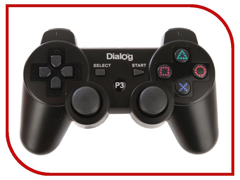 Геймпад Dialog Gan Kata GP-A16RF Black геймпад dialog gan kata gp a16rf black