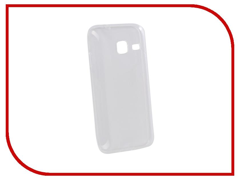Аксессуар Чехол для Samsung Galaxy J1 Mini Pero Silicone Transparent PRSLC-J1MTR аксессуар чехол накладка для samsung galaxy j1 mini 2016 innovation silicone 0 33mm transparent 12031
