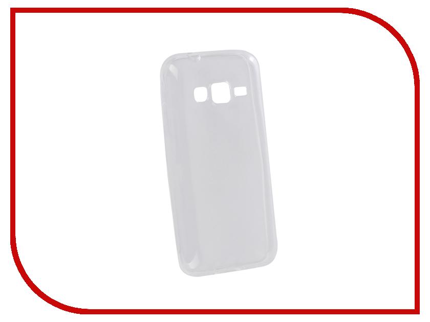Аксессуар Чехол для Samsung Galaxy J1 Mini Prime Pero Silicone Transparent PRSLC-J1MPTR аксессуар чехол накладка для samsung galaxy j1 mini 2016 innovation silicone 0 33mm transparent 12031